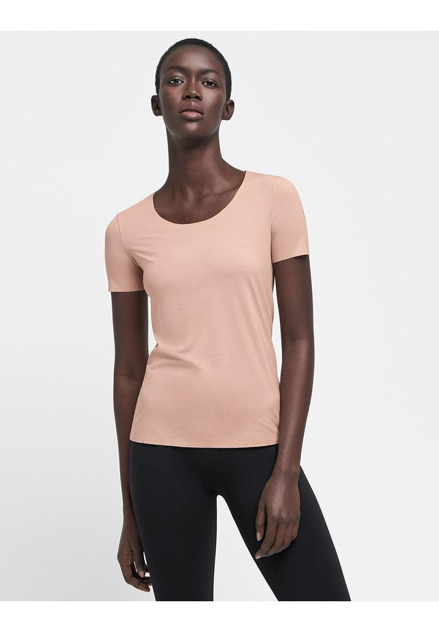 AURORA PURE  - T-shirt basique - rose tan