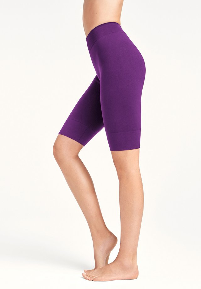 PERFECT FIT FORMING BIKER - Shorts - amethyst