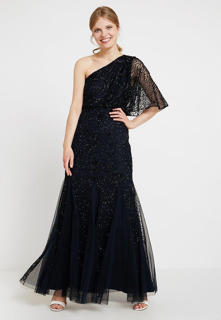 Adrianna Papell - BEADED LONG DRESS - Robe de cocktail - midnight/black
