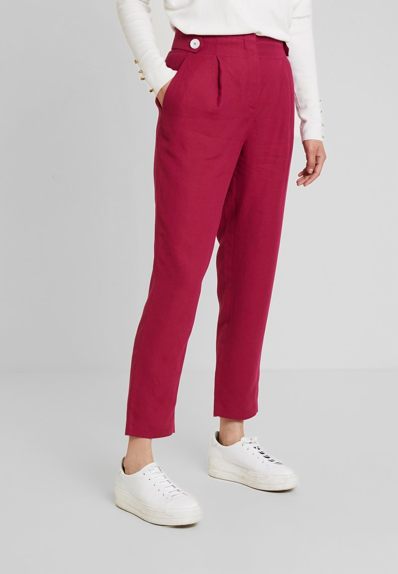 More & More - TROUSER - Trousers - sweet raspberry