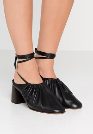 NADIA LACE UP - Veterpumps - black
