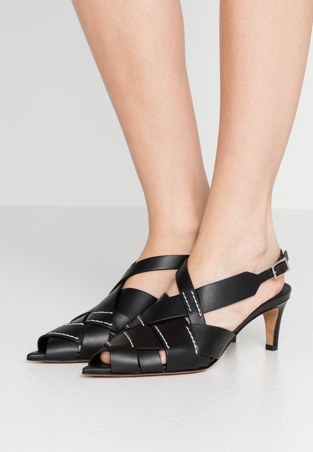 NINA  - Sandály - black