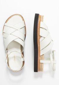 3.1 Phillip Lim - YASMINE PLATFORM  - Loafers - ivory - 3