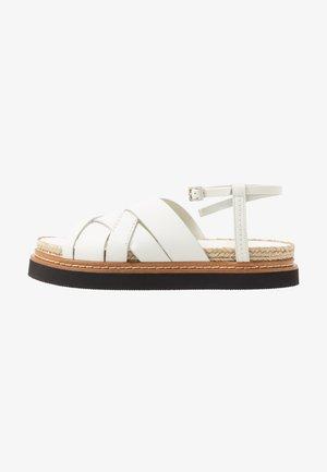 YASMINE PLATFORM  - Loafers - ivory