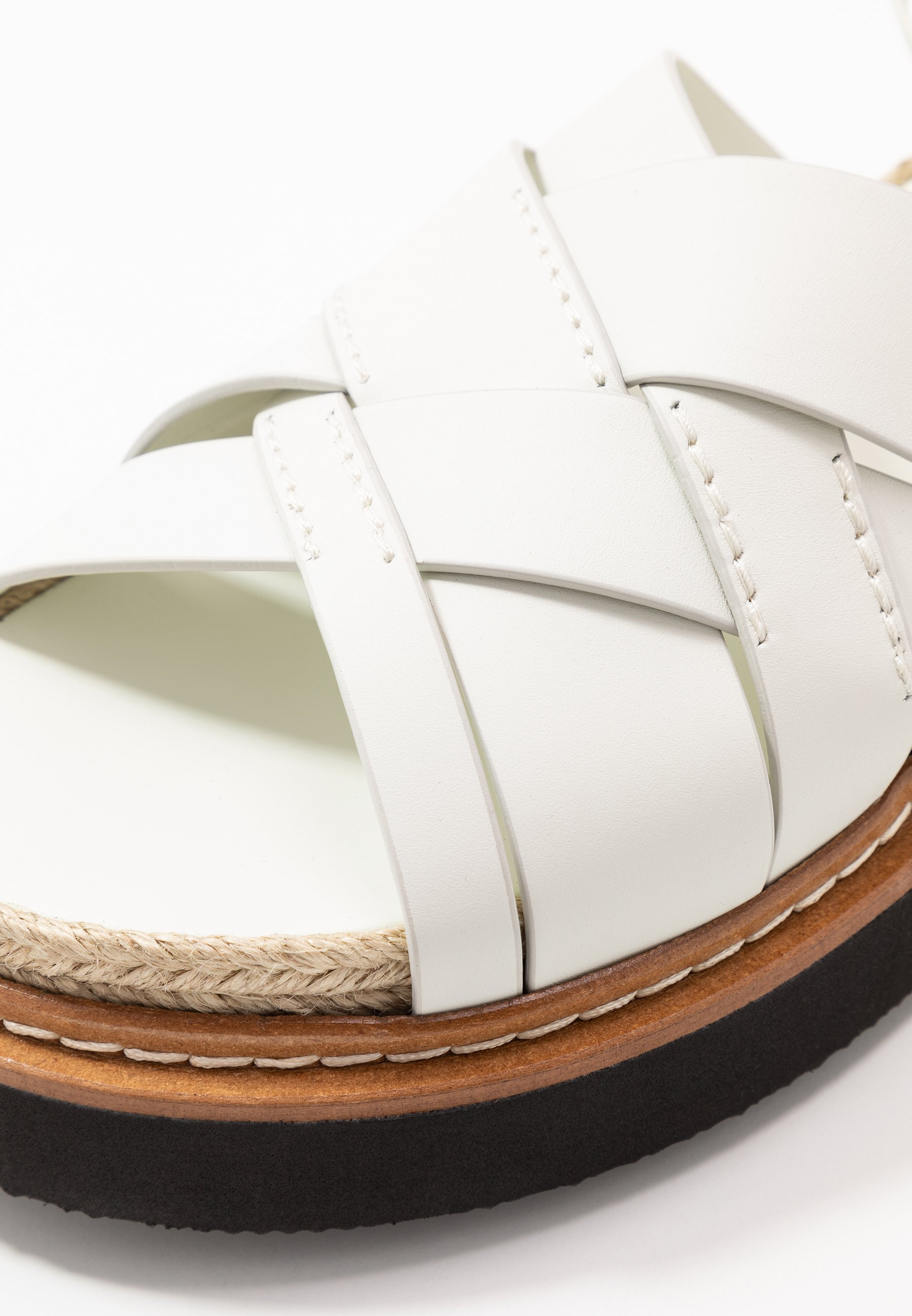 3.1 Phillip Lim YASMINE PLATFORM - Loafers - ivory