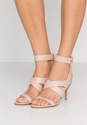 KIDDIE ANKLE STRAP  - Sandály na vysokém podpatku - blush