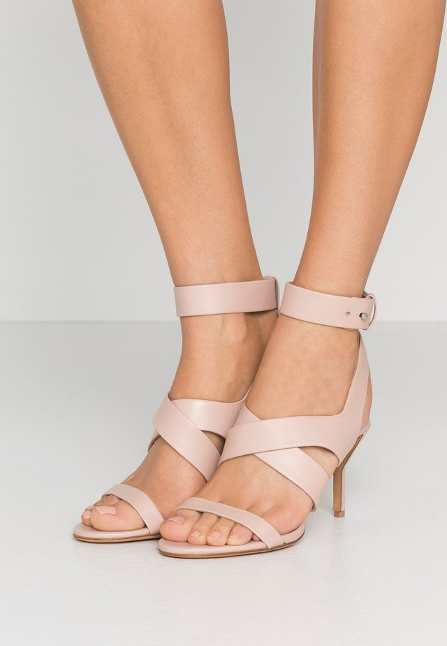 KIDDIE ANKLE STRAP  - High Heel Sandalette - blush