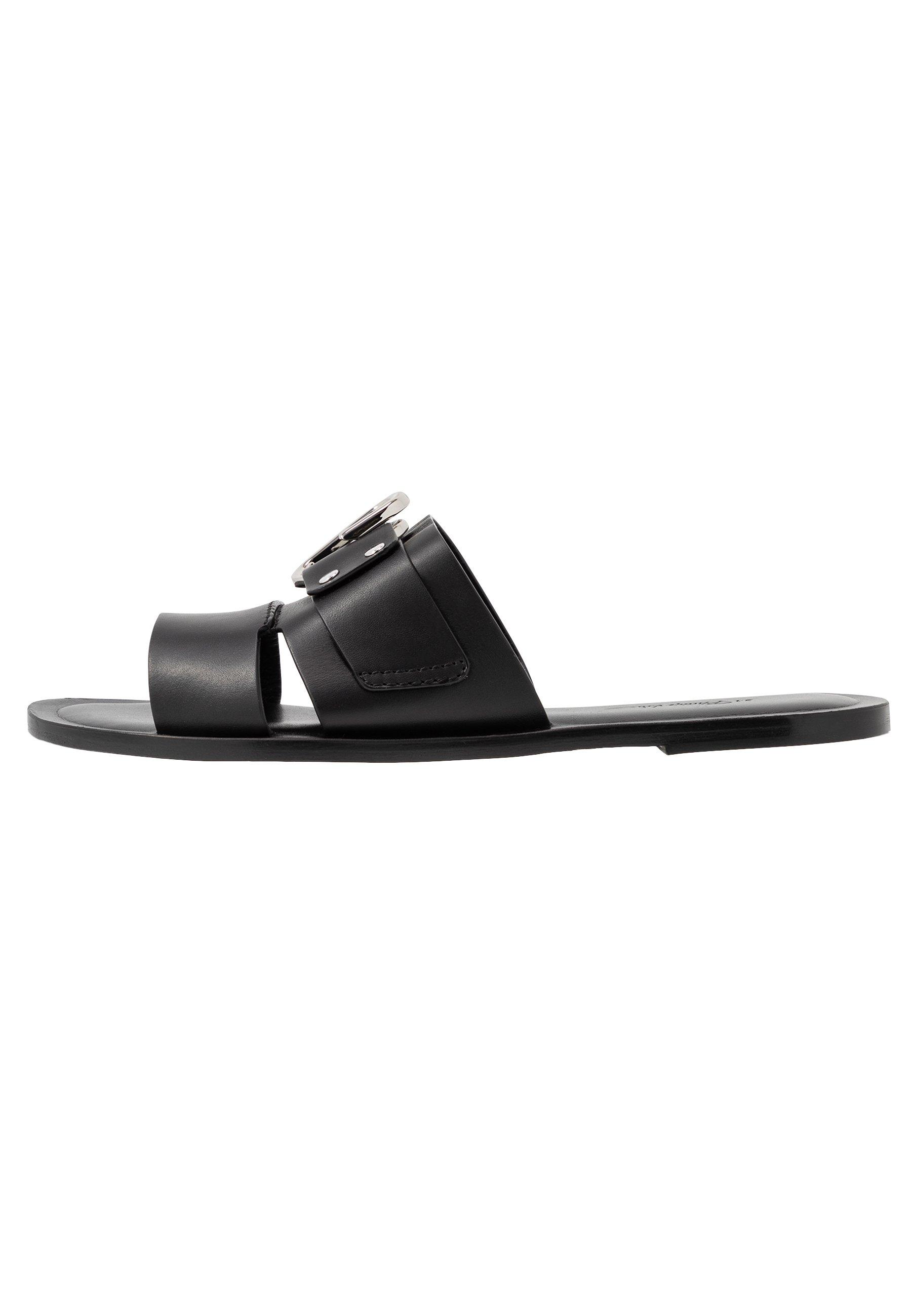 3.1 Phillip Lim Alix Flat Slide - Muiltjes Black Goedkope Schoenen