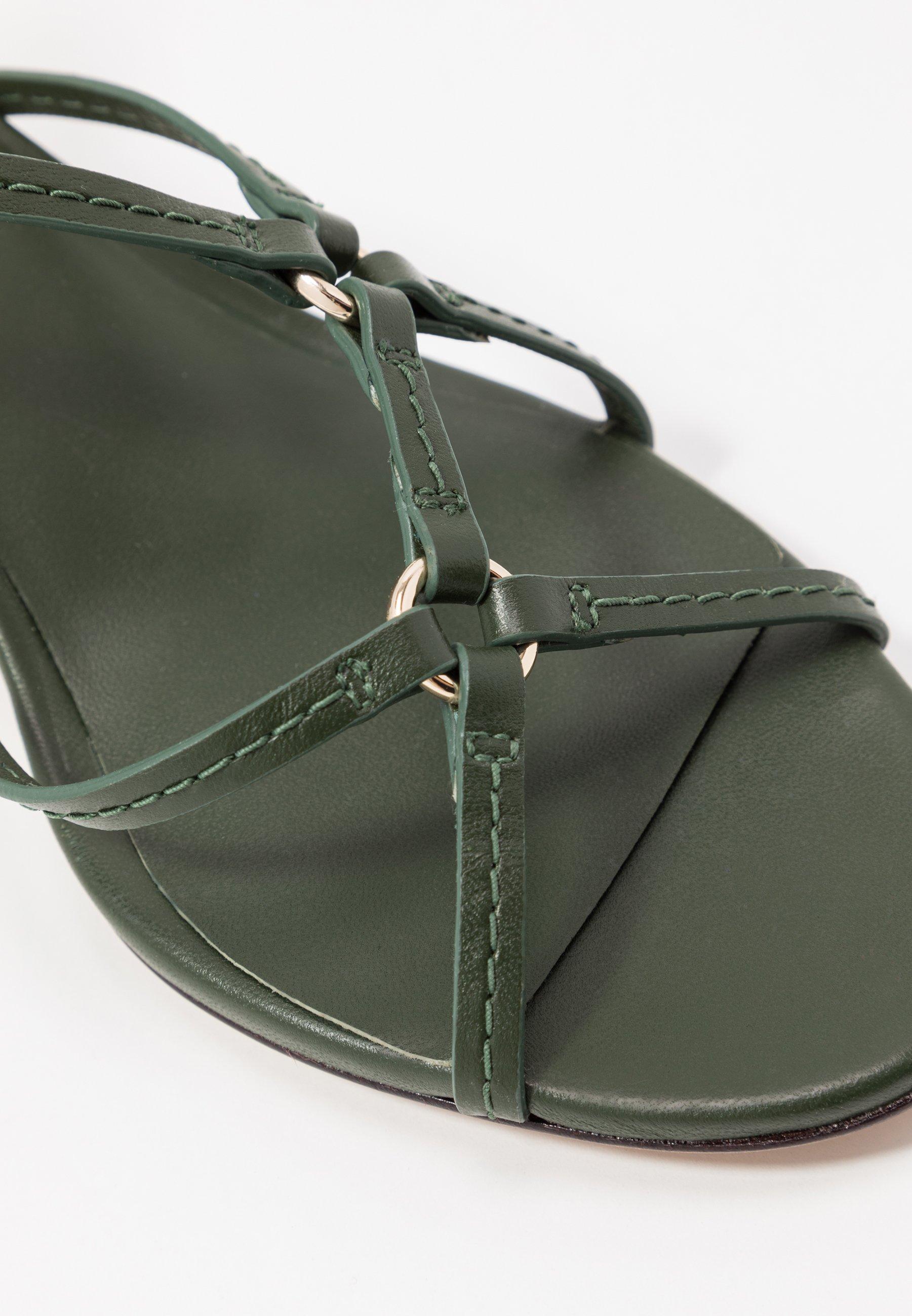 3.1 Phillip Lim LOUISE STRAPPY RINGS - Sandaler - green