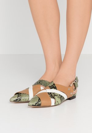 DEANNA POINTY FLAT - Slippers - multicolor