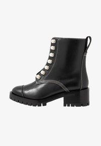 3.1 Phillip Lim - HAYETT LUG SOLE ZIPPER BOOT WITH PEARLS - Støvletter - black - 1