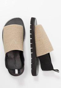 3.1 Phillip Lim - ELASTIC STRAP  - Sandals - natural - 1