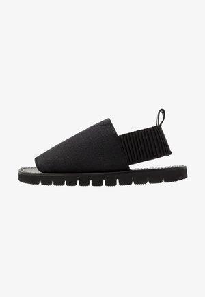 ELASTIC STRAP  - Sandals - black