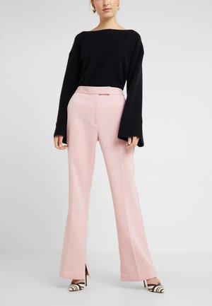 TOPSTITCH SEAMLINE STRUCTURED  PANT - Pantalon classique - blossom