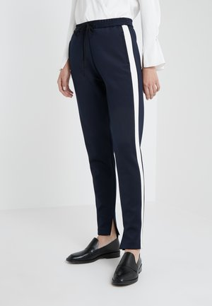 TRACK PANT  SIDE - Jogginghose - midnight/ivory