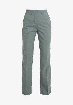 STRUCTURED PANT - Kalhoty - beryl green