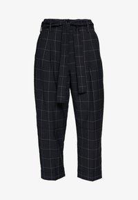 3.1 Phillip Lim - WINDOW PANE MENSWEAR STYLE PANT - Kalhoty - midnight grey - 5