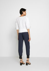 3.1 Phillip Lim - SATIN JOGGER - Trousers - midnight - 2