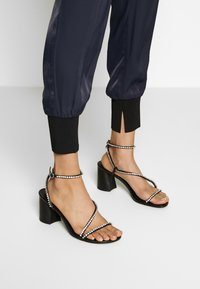 3.1 Phillip Lim - SATIN JOGGER - Trousers - midnight - 4