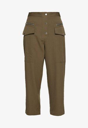 SNAP PANT - Pantaloni - fir green