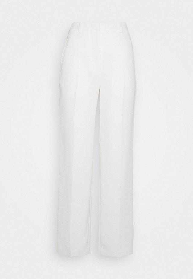 HEAVY CADY TROUSER - Chinot - off-white