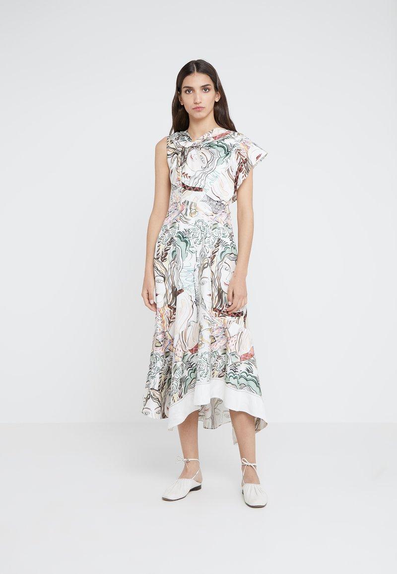3.1 Phillip Lim - TWISTED ASYMMETRICAL DRESS - Hverdagskjoler - white/multi