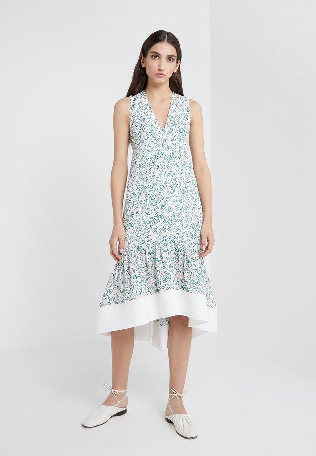 PRINTED DRESS - Robe longue - white/multi