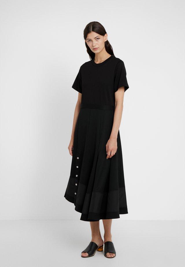 FLARE SKIRT DRESS - Robe d'été - black