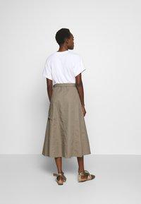 3.1 Phillip Lim - UTILITY DRESS - Denní šaty - white/taupe - 2