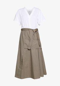 3.1 Phillip Lim - UTILITY DRESS - Denní šaty - white/taupe - 4