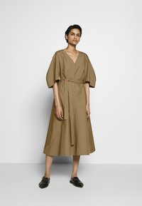 3.1 Phillip Lim - BALLOON SLEEVE DRESS - Kjole - cedar - 0