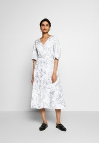 3.1 Phillip Lim - ABSTRACT DAISY BALLOON DRESS - Day dress - white/lavender - 0