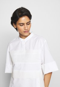 3.1 Phillip Lim - MULTIMEDIA DRESS PLEATED  - Shirt dress - white - 5