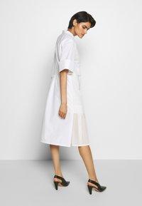 3.1 Phillip Lim - MULTIMEDIA DRESS PLEATED  - Shirt dress - white - 2