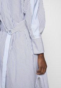 3.1 Phillip Lim - STRIPED OVERLAP DRESS - Day dress - navy/cobalt/white - 5