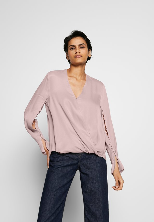 BLOUSE - Bluser - dusty pink