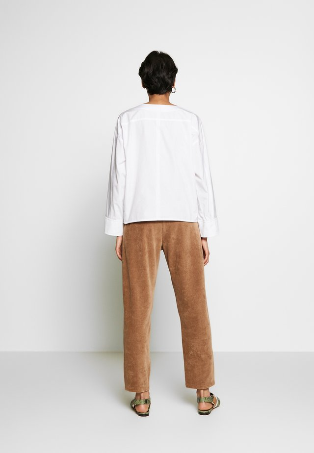 SNAP CUFFS - Blouse - optic white