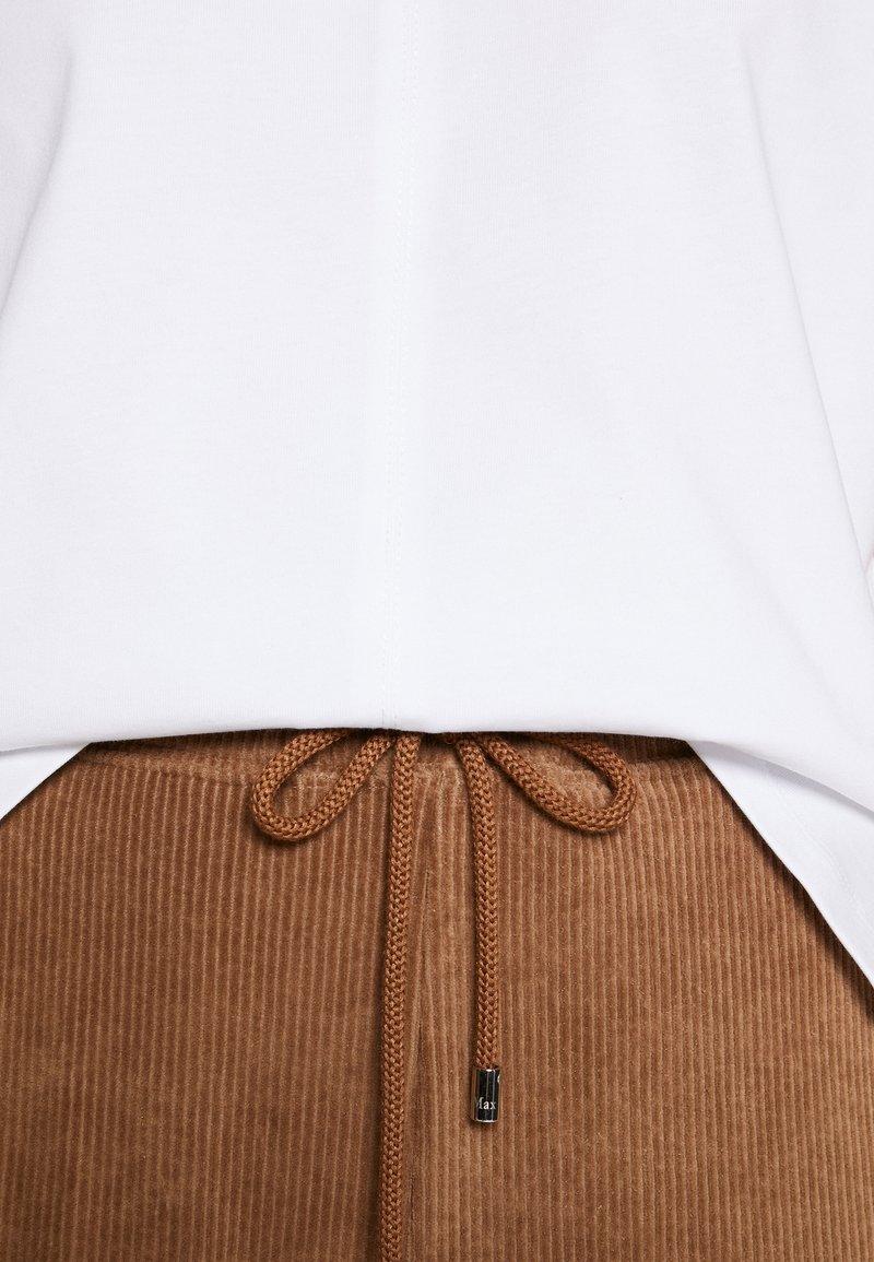 3.1 Phillip Lim SNAP CUFF TSHIRT - T-shirts - white