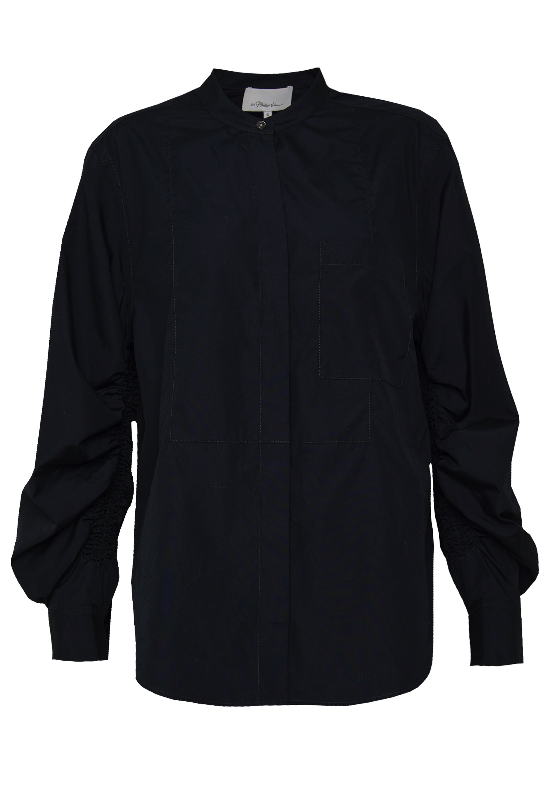 3.1 Phillip Lim GATHERED - Button-down blouse - phantom blue