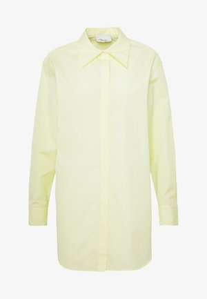 EXAGGERATED COLLAR TOP - Skjorte - pale yellow