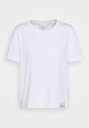 LOGO CREW - Basic T-shirt - white
