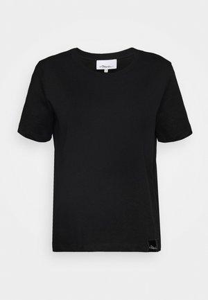 LOGO CREW - Jednoduché triko - black