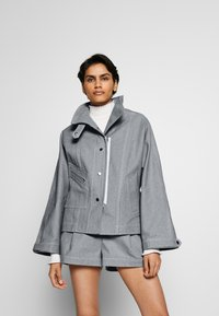 3.1 Phillip Lim - BIKER JACKET - Denim jacket - light blue - 3