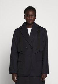 3.1 Phillip Lim - HOODED CUTOUT - Short coat - midnight - 0