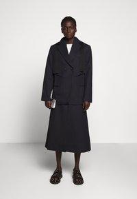 3.1 Phillip Lim - HOODED CUTOUT - Short coat - midnight - 1