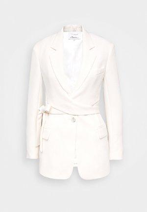 HEAVY CADY WRAP - Krátký kabát - offwhite