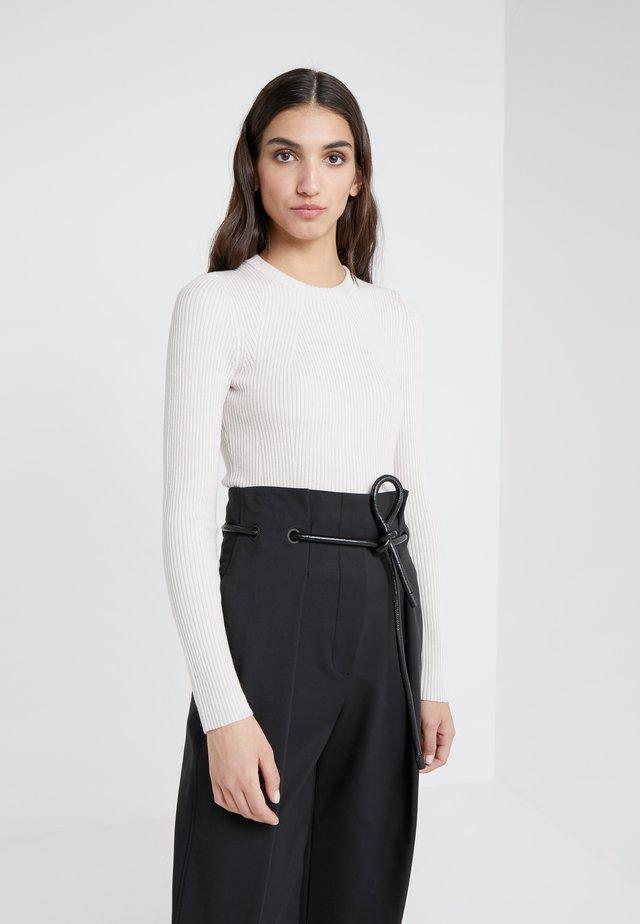 Sweter - light blush