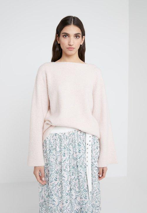 3.1 Phillip Lim LOFTY BOAT NECK BELL - Sweter - light blush Odzież Damska JRLC-HH3 tani