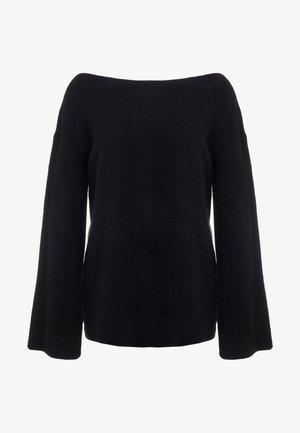 LOFTY BOAT NECK BELL  - Pullover - black