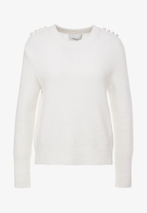 LOFTY PEARL SHOULDER - Pullover - white